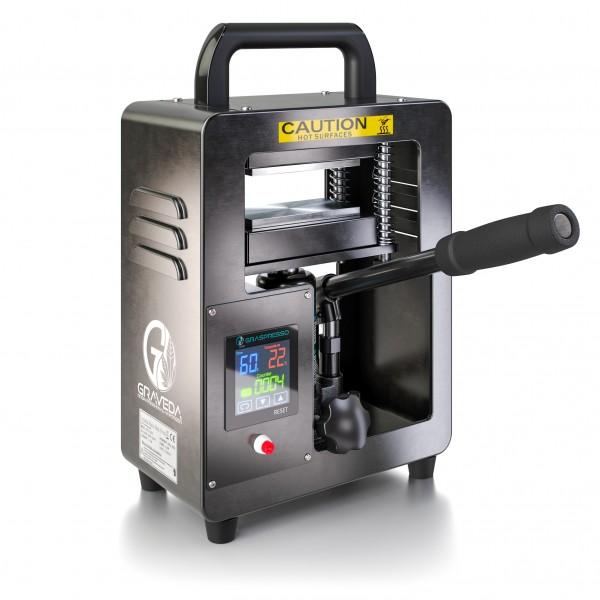 Grasspresso - 5T Rosin Pers met 5 ton hydraulische cilinder - Rosin Press 12 x 6 cm platen