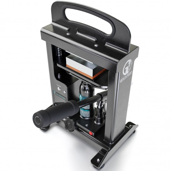Graspresso 3 Tonnen - Rosin Press mit 3 Tonnen Hydraulik Zylinder - 10 x 7,5 cm Platten, Presse