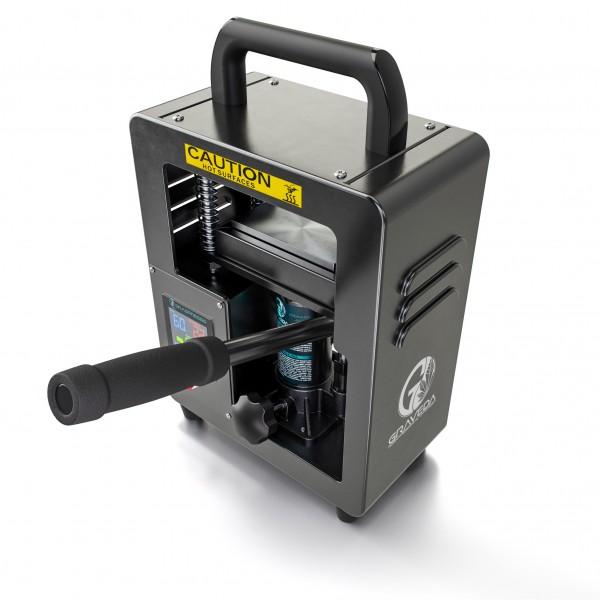 Graveda 5 Ton Rosin Press with a hydraulic cylinder (Heating plates: 12 x 6 cm)
