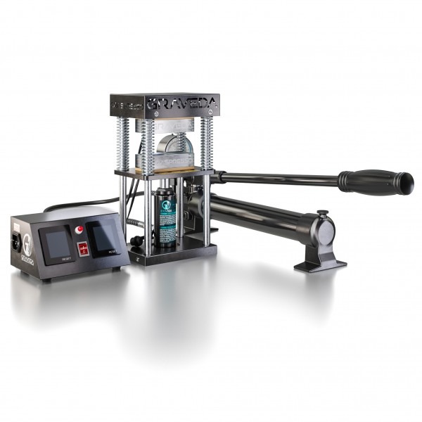 Graspresso EPIC 15 Ton - Rosin press with a 15 ton hydraulic cylinder and manometer (Heating plates: 12 x 6 cm)