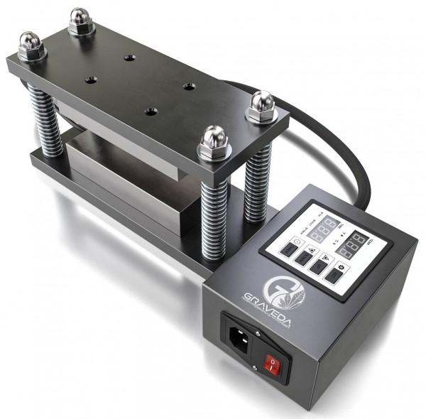 DIY Graspresso Rosin Press Cage Kit - Caged Plates 15x7,5 cm Platten Wax Graveda