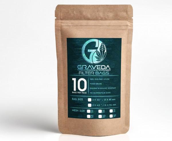 Graveda Rosin Bags - Filterbeutel zur Herstellung von Rosin