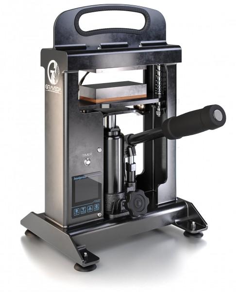 Refurbished Graspresso - 10t Rosin Press mit 10 Tonnen Hydraulik Zylinder, 12 x 6 cm Platten